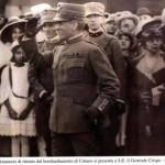 Il Generale Crispo e d'Annunzio 1917