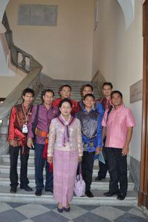 Delegazione thailandese