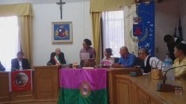 """Discorso del presidente della """"Surindra International Folclore Festival"""""""